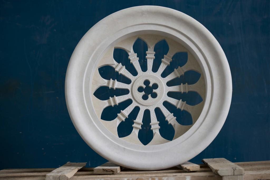 Rosone Lavorazione e prodotti in marmo Sicilia