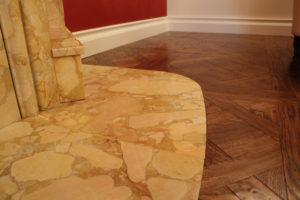 Rivestimento camino marmo giallo di Castronovo Lavorazione e prodotti in marmo Sicilia