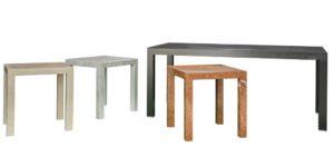 Tavoli realizzati in Marmo alleggerito (Lightweight Marble) Carubia I marmi e le pietre